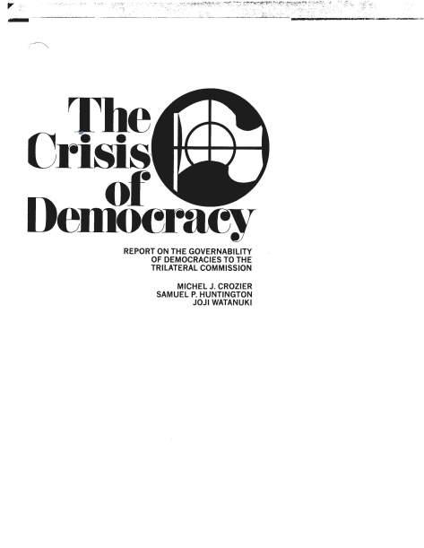 Crisis of Democracy Complete